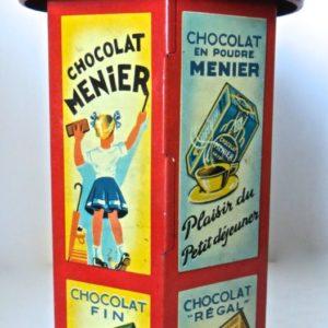 #55 Chocolate Menier Red